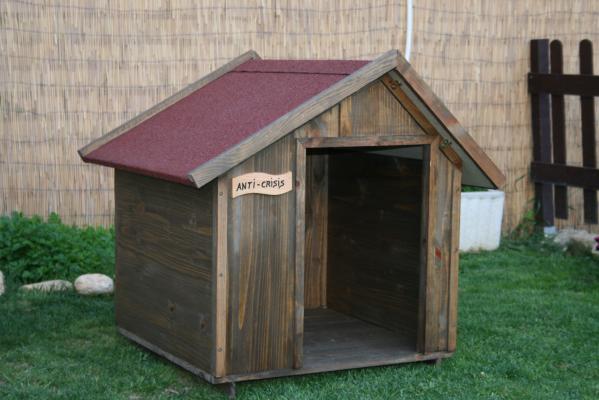 Casetas de madera para perros for Casetas de jardin grandes